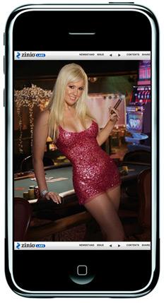 Playboy no iPhone via Zinio