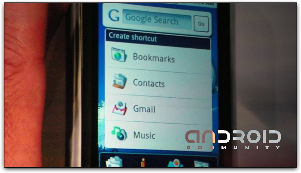 Criação de Atalhos na Home Screen do Google Android