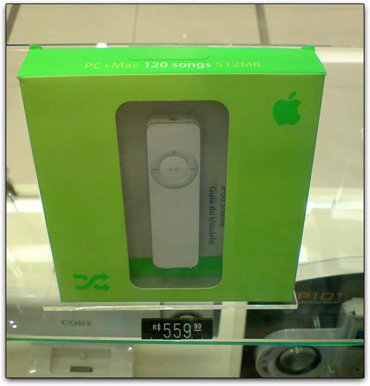iPod shuffle 1G caríssimo