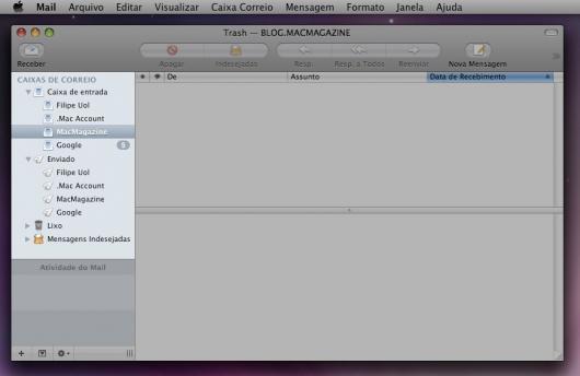 Configurando o Mail