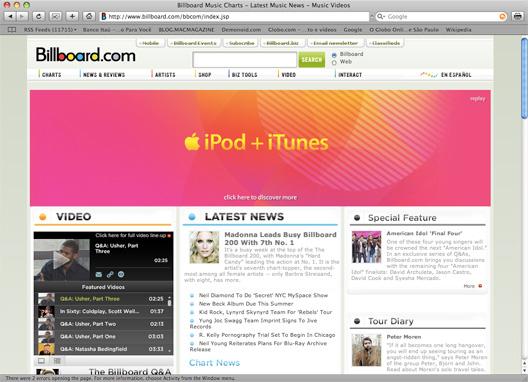 Comercial iPod + iTunes