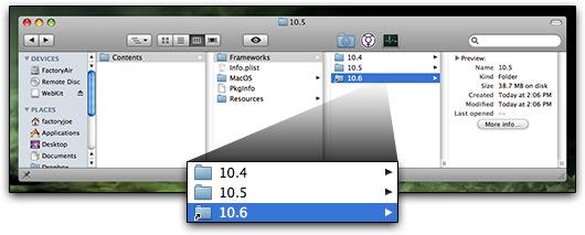 WebKit com referência para o Mac OS X 10.6