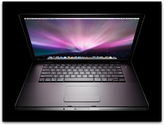 Tela do MacBook Pro