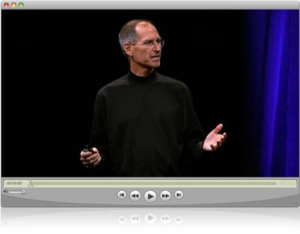 Steve Jobs na WWDC 2008