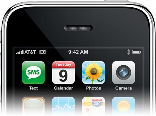 Topo do iPhone 3G