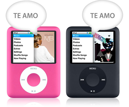 iPod namorados