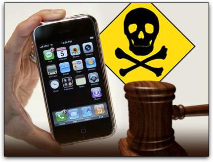 iPhone perigoso