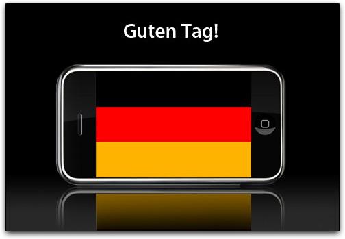 iPhone na Alemanha
