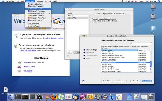 CrossOver para Mac