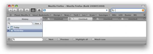 Tema GrApple de Aronnax para Firefox 3.0