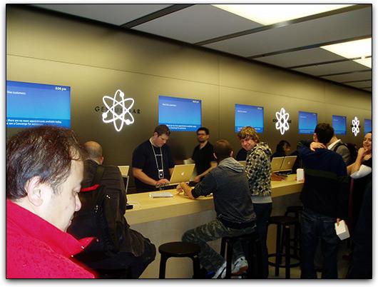 MM na Apple Retail Store Sydney