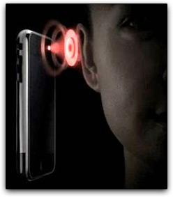 Sensor de proximidade do iPhone