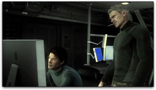 Apple em Metal Gear Solid 4