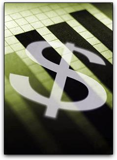 Gráfico de dinheiro