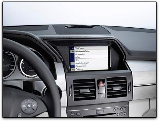 Mercedes-Benz e iPhone