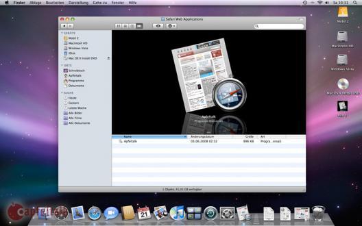 Safari Web Application