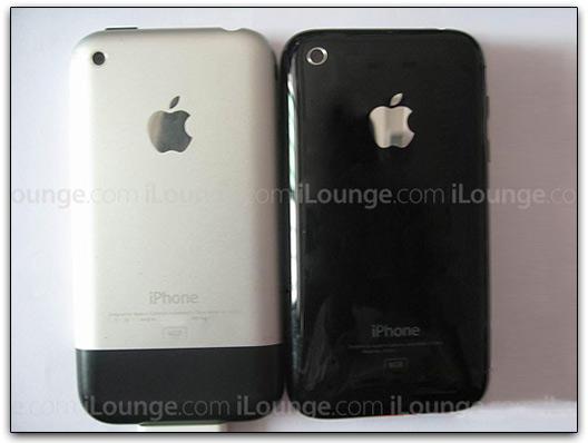 As duas gerações de iPhone