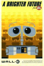 Pôster retrô WALL•E