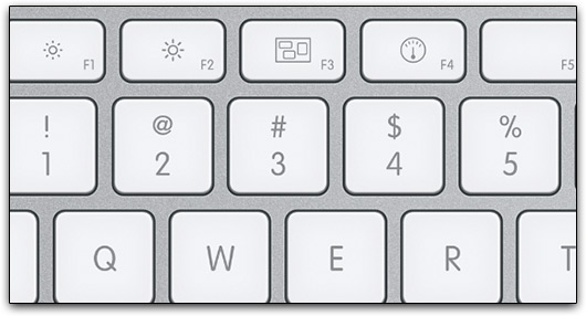 Exposé no Apple Keyboard