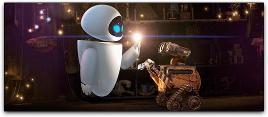 Eve e WALL-E