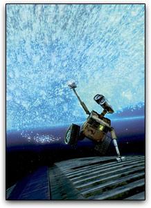 Wall-E no espaço