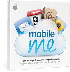 Caixa do MobileMe