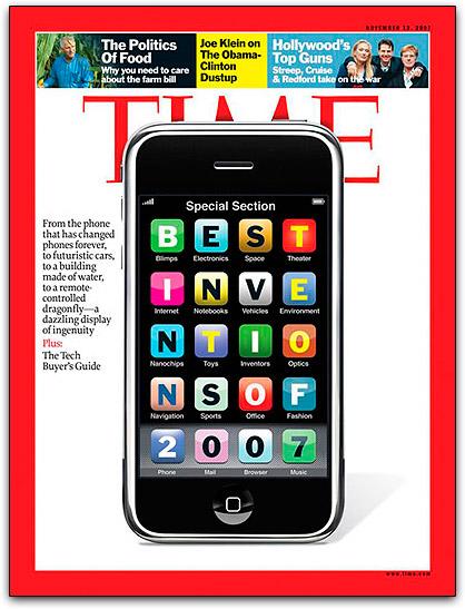 Capa da revista Time: edição Invention of the Year