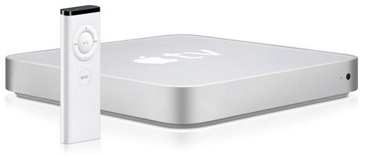 Apple TV de primeira geração com controle remoto