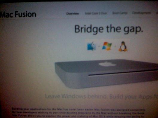 Mac Fusion