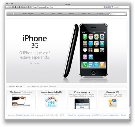 Apple Brasil: home