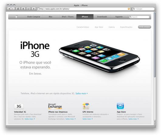 Apple Brasil: iPhone