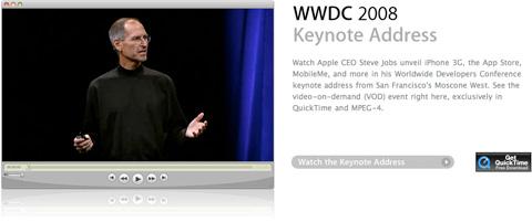 Keynote WWDC 2008