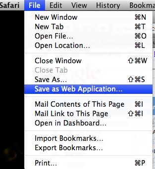 Meu File no Safari