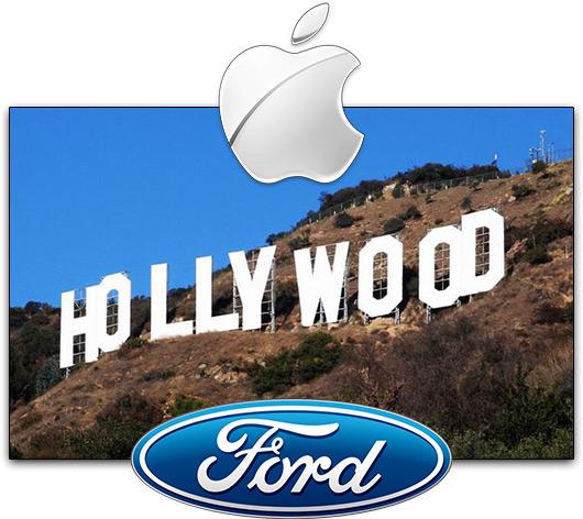 Apple & Ford em Hollywood
