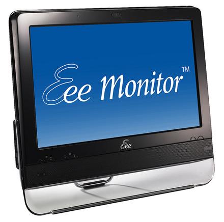 ASUS Eee Monitor na cor preta