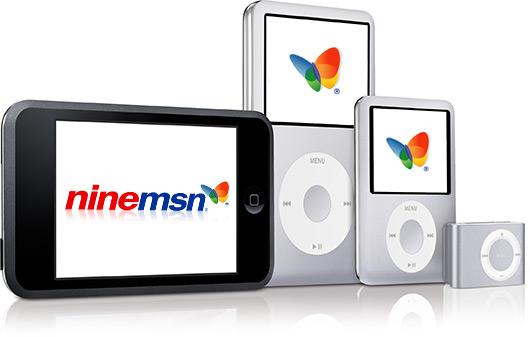 Microsoft iPods Ninemsn