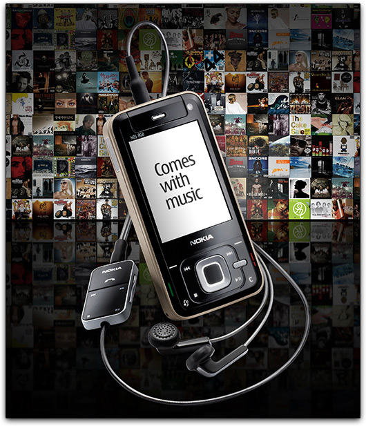 """Nokia \""""Comes with Music\"""""""