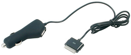 USBfever In Car 2-in-1 USB & iPod/iPhone Charger