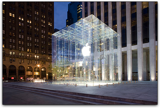 Apple Retail Store: 5th Avenue, Nova York (EUA)
