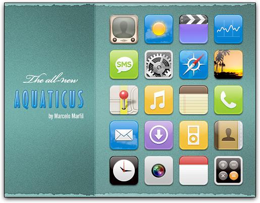Tema Aquaticus para iPhones