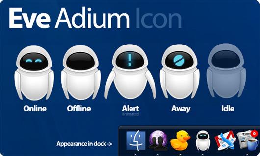 EVE no Adium