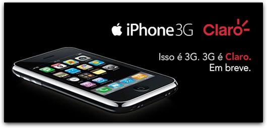 Claro: iPhone 3G