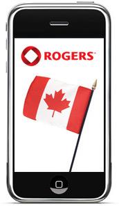 iPhone via Rogers no Canadá