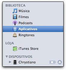 App Store no iTunes 7.7