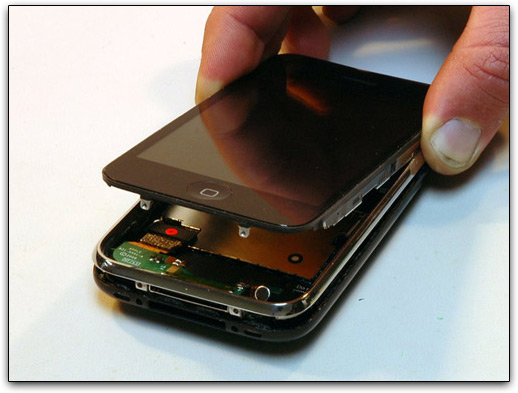 iPhone 3G aberto
