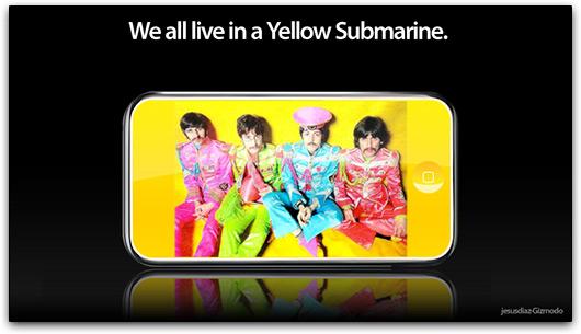 iPod Yellow Submarine