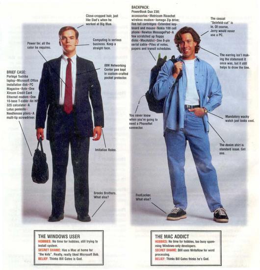 Mac vs. PC em 1996