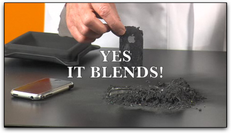 iPhone 3G: yes, it blends!