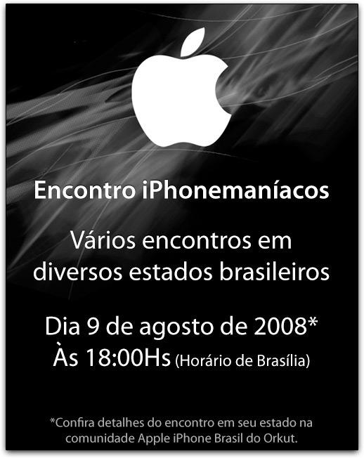 Encontro brasileiro de iPhonemaníacos