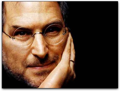 Steve Jobs com mãozinha